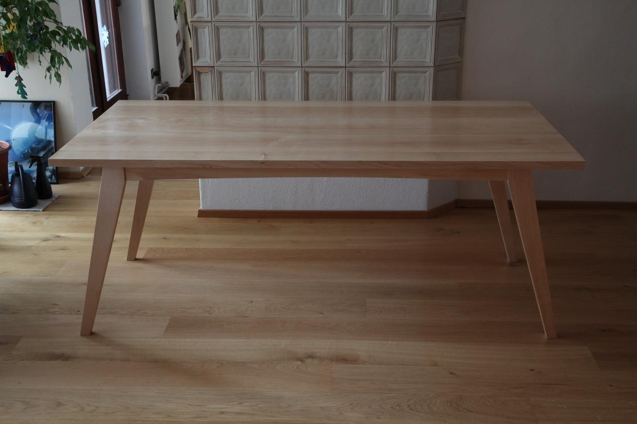 Lauflernwagen Holz Selber Bauen ~ 505 Esstisch Laengsseite – Frau Holz