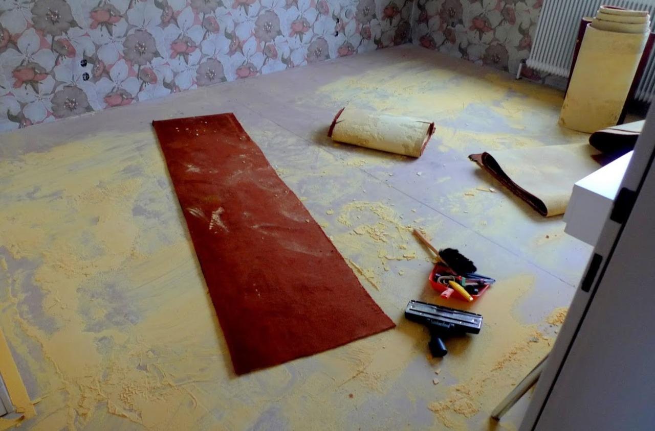 verklebten teppichboden entfernen teppich auf treppe entfernen alle ideen ber home design. Black Bedroom Furniture Sets. Home Design Ideas