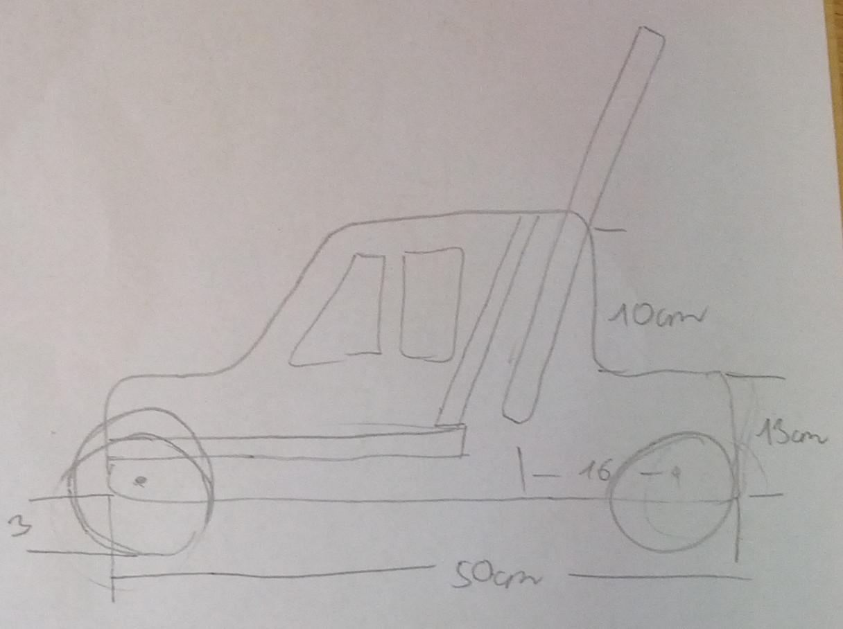 lauflernwagen – frau holz, Moderne