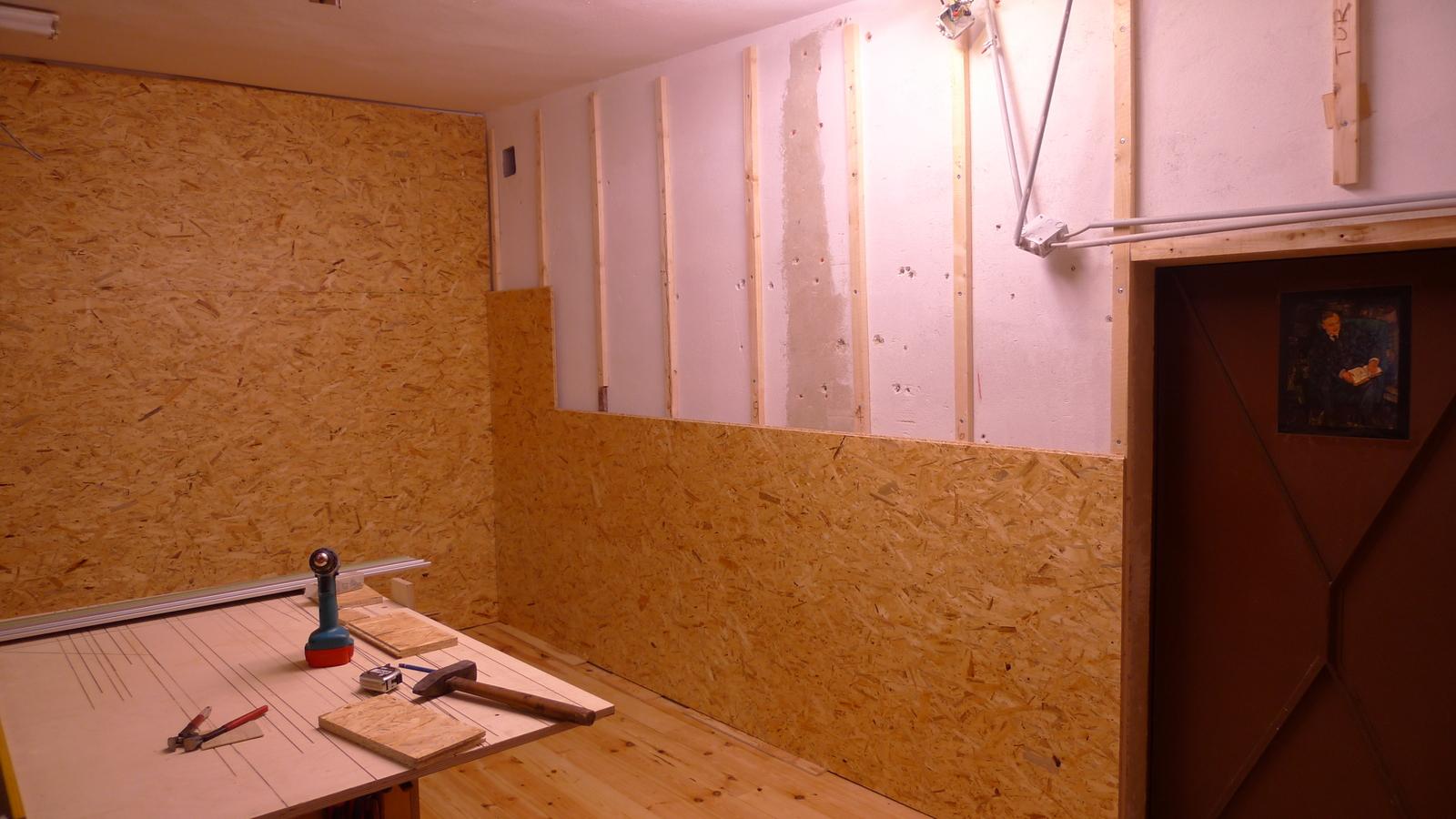 Gut gemocht Werkstattumbau – Neue Wände – Frau Holz NP17